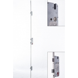 Multipoint 2 Hook Door Lock BS 45mm Left, Faceplate 20mm, square end